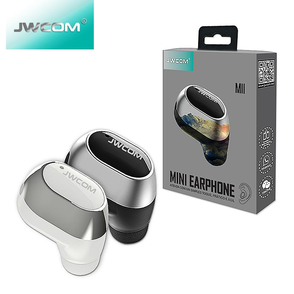 Fone Bluetooth Sim Fio Jwcom M11 Longa Duração 5 Horas