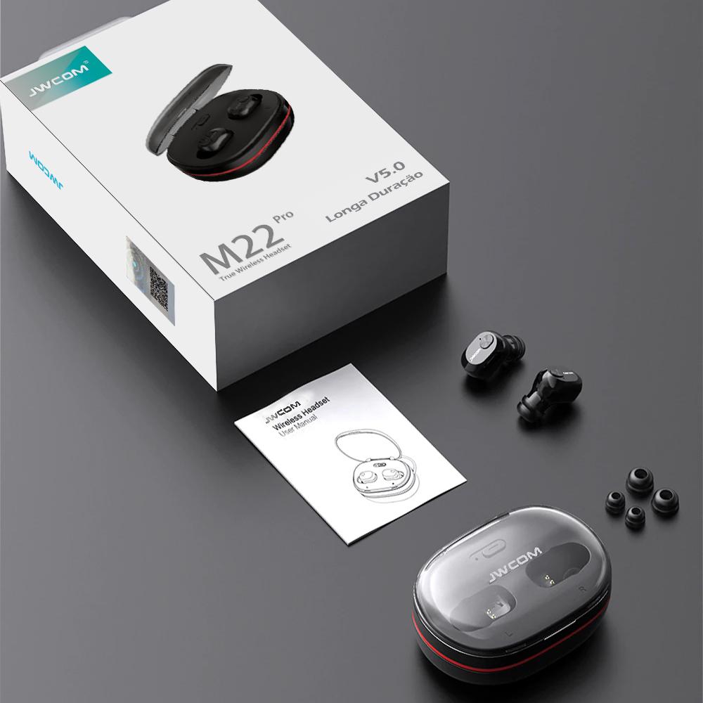 Fone Bluetooth 120h Música Com Uso Alternados Dos Fones M22